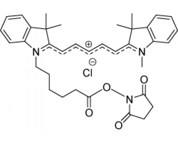 By-5 Indodicarbocyanine oxysuccinimide ester (Cy5-NHS analogue)
