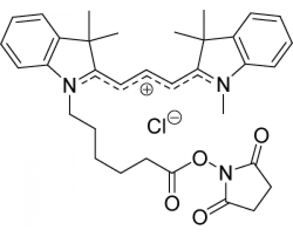 By-3 Indocarbocyanine oxysuccinimide ester (Cy3-NHS analogue)